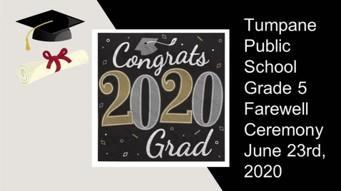 Thumbnail for entry Grade 5 Farewell 2020
