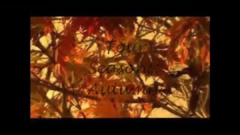 Thumbnail for entry Cultural Literacy Podcast: Four Seasons: Autumn
