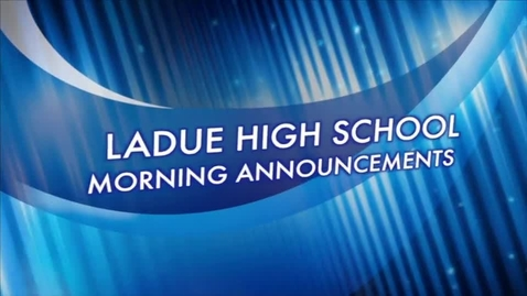 Thumbnail for entry LHS Morning Newscast March 5, 2015