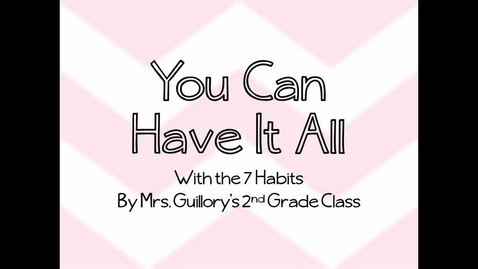 Thumbnail for entry You Can Have It All (7 Habits)