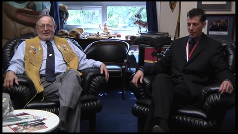 Thumbnail for entry Alaska Congressman Don Young and Alaska POY Greg Wohlman