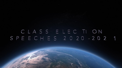 Thumbnail for entry BTVN Special Edition Class Election Speeches 2020