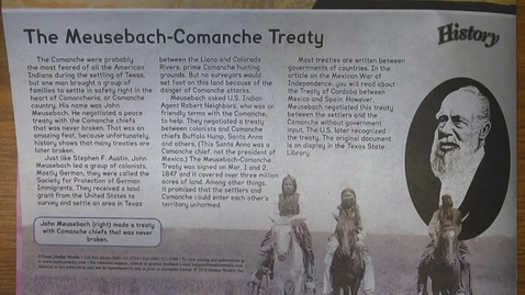 Thumbnail for entry Muesebach-Comanche Treaty