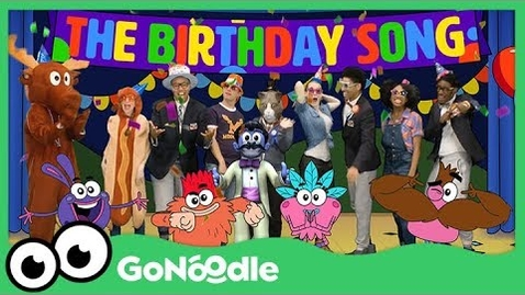 Thumbnail for entry The Birthday Song - The Champiverse | GoNoodle