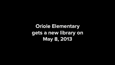 Thumbnail for entry Library Grand Opening May 8, 2013