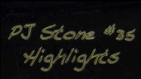 Thumbnail for entry PJ Stone #35