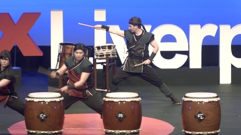 Thumbnail for entry No Limits | Mugenkyo Taiko Drummers | TEDxLiverpool