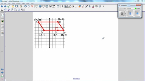 Thumbnail for entry Quadrilaterals on a Coordinate Grid -Q5