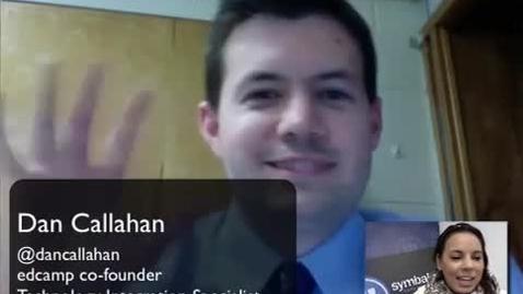 Thumbnail for entry SymbalooEDU Educator Spotlight: Dan Callahan
