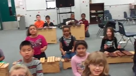 """Thumbnail for entry Ms. Tyalor's 3rd grade class """"When the Saints Go Marching In"""""""