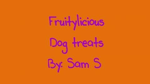 Thumbnail for entry Fruitylicious Comercial