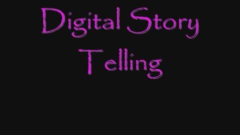 Thumbnail for entry Megan Barrett's  Digital Storytelling Project