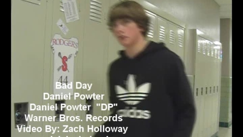 Thumbnail for entry Bad Day MV