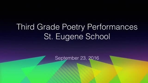 Thumbnail for entry Recess Poetry Performance