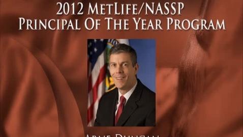 Thumbnail for entry U.S. Secretary of Education Arne Duncan