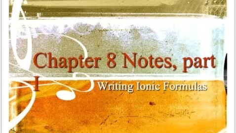 Thumbnail for entry Unit 8 notes 1