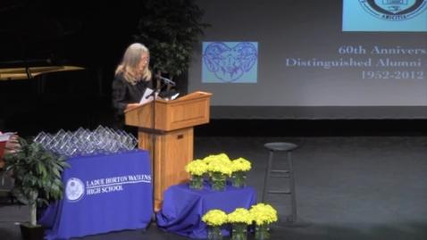 Thumbnail for entry Ladue High School - 2012 Distinguished Alumni, Robert Nissenbaum