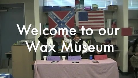 Thumbnail for entry Third Grade Wax Museum