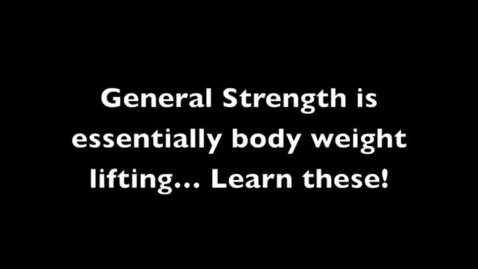 Thumbnail for entry General Strength