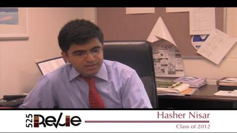 Thumbnail for entry CHS Senior Spotlight 2012 - Male Class Leader - Hasher Nisar