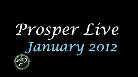 Thumbnail for entry Prosper Live January 2012