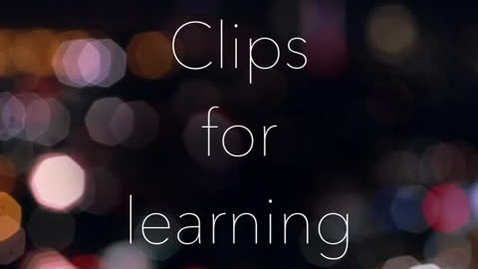 Thumbnail for entry Clips for Learning promo for iChampion 2018