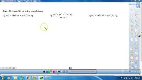 Thumbnail for entry Math 3 Long Division