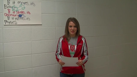 Thumbnail for entry Ashley Senior Journalism Video