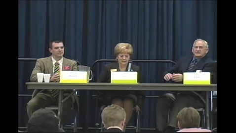 Thumbnail for entry Ashtabula County Commissioners Debate 2012 1/3/13