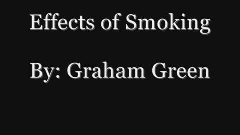 Thumbnail for entry Smoking PSA
