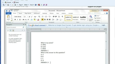 Thumbnail for entry Importing Aiken Quizzes in Moodle