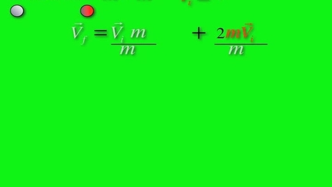 Thumbnail for entry examples of 1-d elastic collisions
