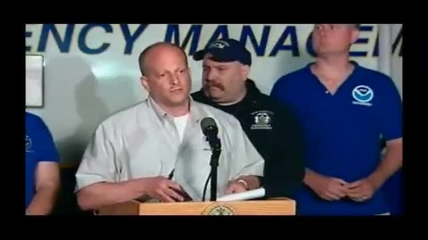 Thumbnail for entry National Weather Service Press Conference- Brooklyn-Queens 9-16-10 Tornado