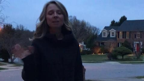Thumbnail for entry Mrs. Shaw - blending words w/ sidewalk chalk