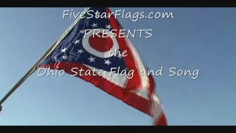 Thumbnail for entry Ohio State Flag and State Song