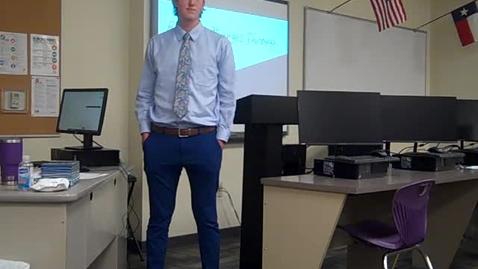 Thumbnail for entry Garrett Smith Final Speech