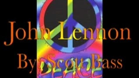 Thumbnail for entry John Lennon by Scott Bass