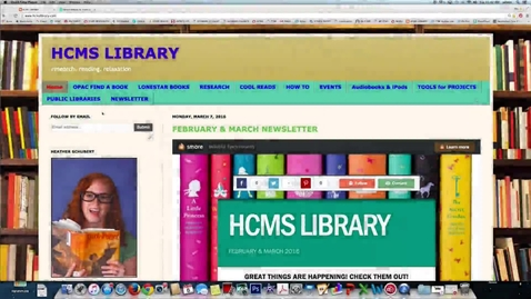 Thumbnail for entry Web Site Citation - 6th grade