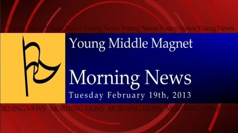 Thumbnail for entry 02-19-2013 Morning Show