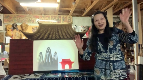 Thumbnail for entry 4thGr Chinese ShadowPuppet Theater T.HuaHua Lesson 3