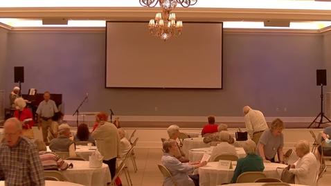 Thumbnail for entry Senior Life - Thursday Gathering - September 9