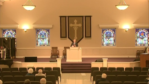 Thumbnail for entry Wednesday Evening Service - March 31