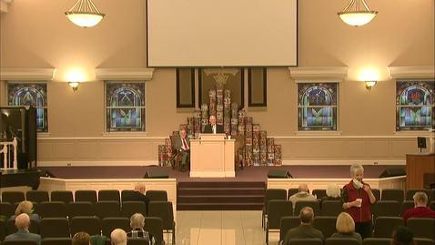 Thumbnail for entry Bible Center - December 13