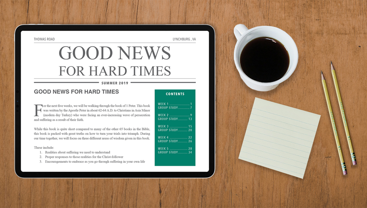 Good News for Hard Times: Week 3