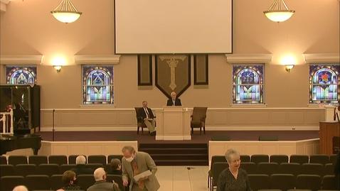 Thumbnail for entry Bible Center - February 28