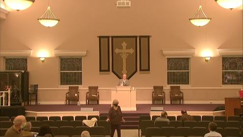 Thumbnail for entry Wednesday Evening Service - November 4
