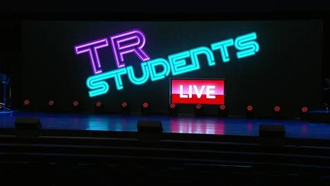 Thumbnail for entry TR Students Live - July 15