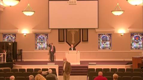 Thumbnail for entry Bible Center - November 2