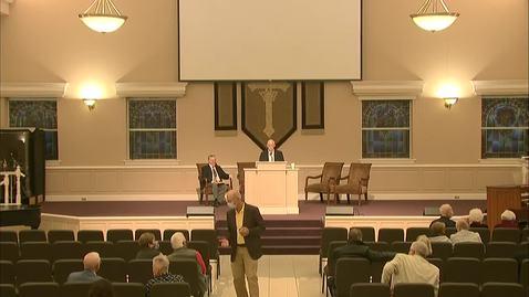 Thumbnail for entry Bible Center - November 22