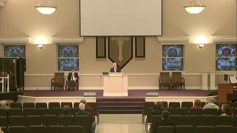 Thumbnail for entry Bible Center - November 15